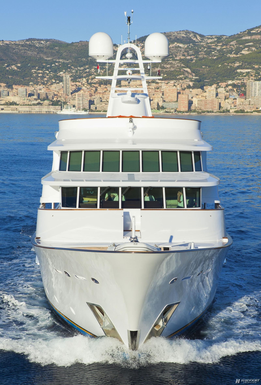 Luxury Yacht Engine Room: Yacht PAMELA V, Hakvoort Shipyard